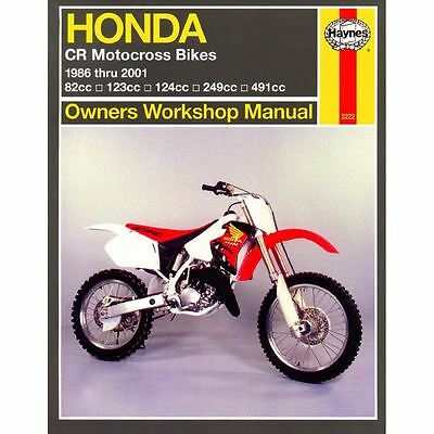 Manual Haynes for 1994 Honda CR 500 RR