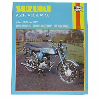 Manual Haynes for 1976 Suzuki A 50