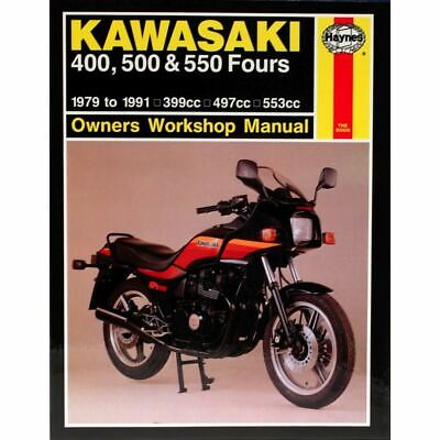 Manual Haynes for 1985 Kawasaki Z 400 F2 (ZX400C2)