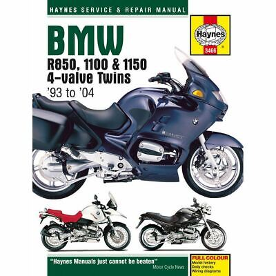 Manual Haynes for 1998 BMW R 1100 RT