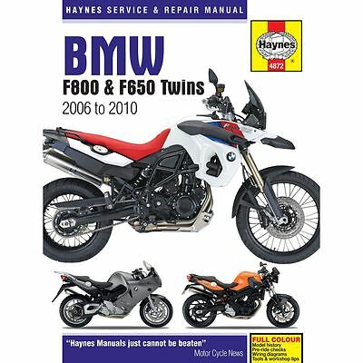 Manual Haynes for 2010 BMW F 800 ST