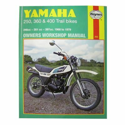 Manual Haynes for 1975 Yamaha DT 250 B (Twin Shock)
