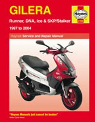 Manual Haynes for 2001 Gilera DNA 180