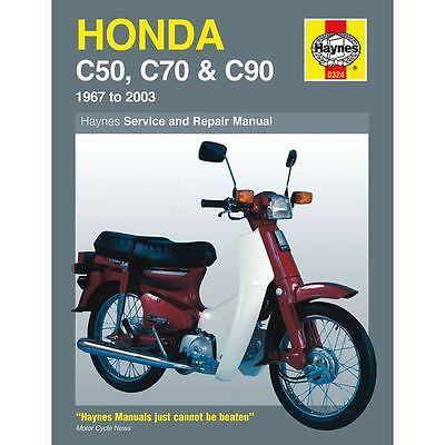 Manual Haynes for 1975 Honda C 70