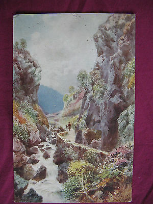 "Postcard. Raphael Tuck. ""Oilette""  The Pass of Melfort. No.7682. unused"