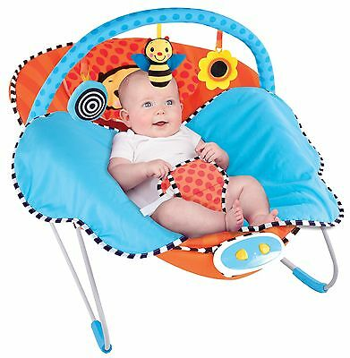 Sassy Cuddle Bug Bouncer Whimsical Bumble Bee NEW