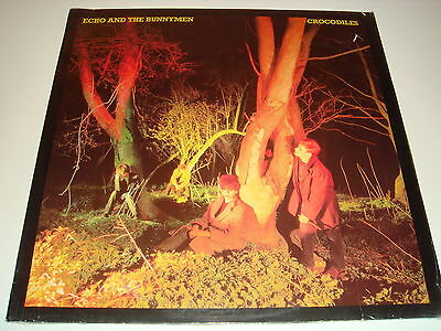 Echo and the Bunnymen - Crocodiles - UK 1980 1st Edition - In Shrink Never Open
