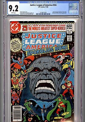 Justice League Of America #184 (Dc, 11/80) Darkseid Appearance~Cgc 9.2 White Pgs