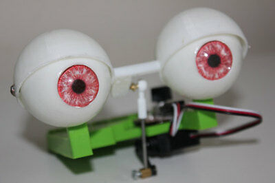 BLINKING EYE mechanism for animatronic puppet muppet fx
