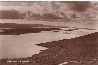RP THULES BAYS ISLANDS SHETLAND SCOTTISH ISLES RATTAR R PHOTO c1934