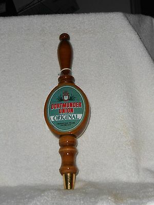 """Collectible Dortmunder Union Original  Beer Tap Pull 12.5"""""""