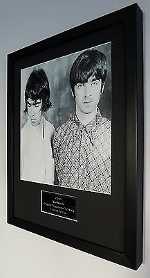 Oasis Framed Original Knebworth Programme Artwork-Certificate-Noel Gallagher