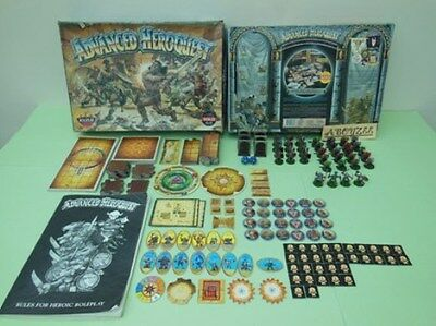 Advance Heroquest Hero Quest Game Complete Boxed Games Workshop