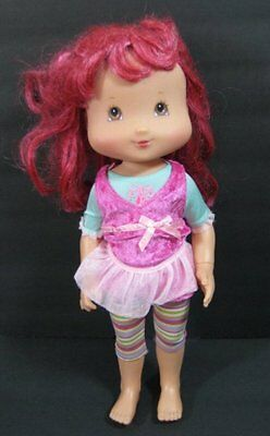 "15"" STRAWBERY SHORTCAKE DOLL Berry Ballet Playmates Posable Rooted Hair B165"