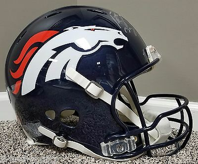 Peyton Manning SUPER BOWL Game Issued Style Autographed AUTHENTIC Broncos Helmet