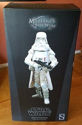 "STAR WARS SNOWTROOPER SIDESHOW 1/6 FIGURE 12"" New In Box"
