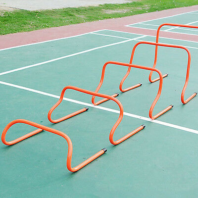 "HOT 1PC Outdoor Sports Team 9"" Football Soccer Speed Agility Training Hurdles"