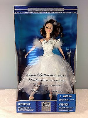 2001 Barbie Doll as Swan Ballerina from Swan Lake - Classic Ballet Series - NRFB