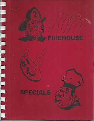 *goshen In Vintage *firehouse Specials Cook Book *firefighters Auxiliary Indiana