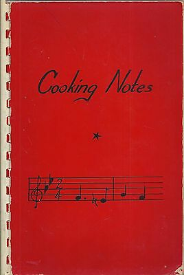 *sheridan In Vintage *cooking Notes Ethnic Cook Book *school Band Boosters *rare