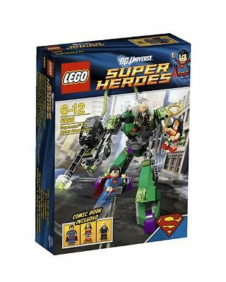 LEGO Super Heroes DC Universe Superman vs. Power Armor Lex 6862  NEW SEALED