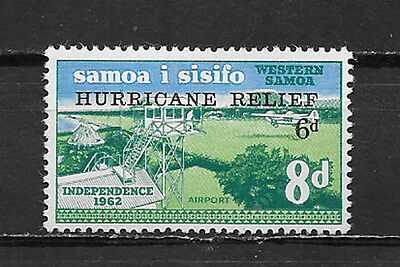 Western Samoa , Samoa , 1966 ,  Hurricane Relief , Set Of 4 Stamps  , Perf , Mnh