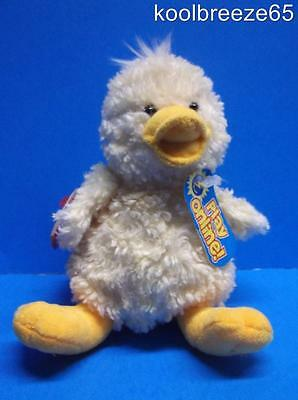Ty Beanie Baby QUACKLY the Duck 2.0 Unused Code Plush Toy 2007 Hang Tag Easter