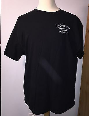 Kenny Chesney Spread The Love Tour 2016 Local Crew Black T Shirt XL