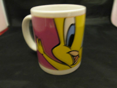 "Looney Tunes Tweety Bird Mug by Gibson. 4 1/2"" Tall"