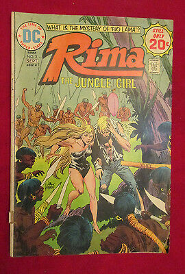 Rima, the Jungle Girl #3 (Aug-Sep 1974, DC)