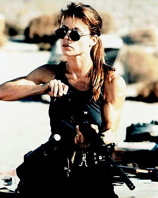 8x10 Glossy Color Photo of Linda Hamilton Actress Terminator