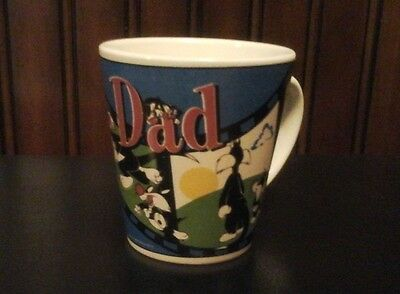 """Sylvester The Cat """"Dad"""" Cup Ceramic Mug ~ Warner Brothers 1999 Great Condition!"""