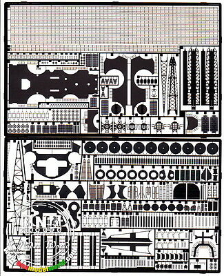 Eduard Photo-etched parts for 1/350 IJN Yamato for Tamiya kit #53019