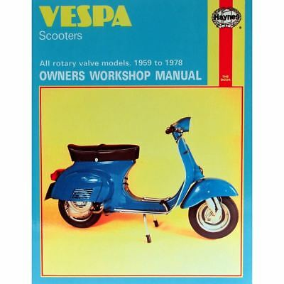 Manual Haynes for 1976 Vespa 150 Super (VBC1T) (145cc)