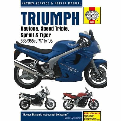 Manual Haynes for 2001 Triumph Daytona 955i (EFI) (SSSA)
