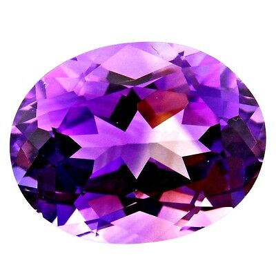 7.68 ct Natural Amethyst Faceted ( Untreated )  / R0728