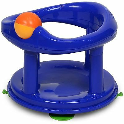 Safety 1st Baby Bath Support Swivel Bath Seat - Primary Blue