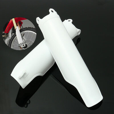 2x Fork Guard Cover Plastic For Honda Crf250 Crf450 2004-2012 Crf250r Crf450r