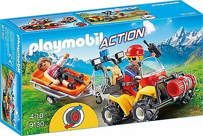 Playmobil - Action - 9130 - Bergretter-Quad - NEU OVP