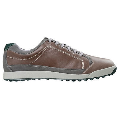 Footjoy Mens Contour Casual Golf Shoes #54249 / Grey - Green / UK 8 M 2015