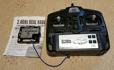 HENG LONG 2.4GHz RADIO CONTROL TRANSMITTER AND RECEIVER - LATEST VERSION 5.3