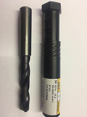 10.2mm Guhring 5514 Carbide Drill