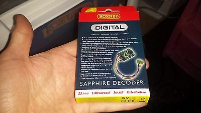 OO HORNBY R8245 Sapphire DCC Locomotive Decoder 21 pin with 8 pin adaptor NMRA