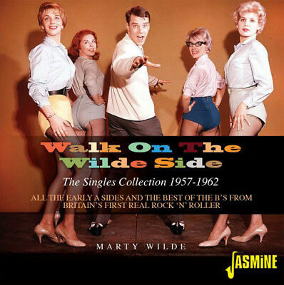 Marty Wilde : Walk On the Wilde Side: The Singles Collection 1957-1962 CD