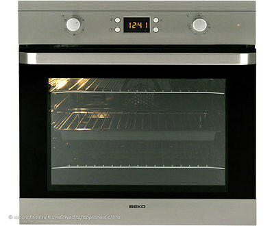 Beko OIF22300X Built In Electric Single Oven 59cm Single Cavity Stainless Steel