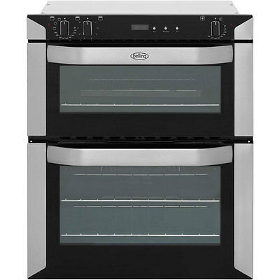 Belling BI70FP Built Under Electric Double Oven 60cm Double Cavity Stainless