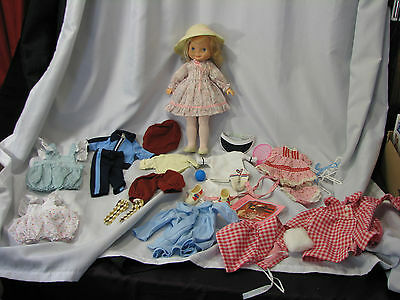 Fisher Price Vintage My Friend Mandy Doll Huge Lot Original Clothes Accessories