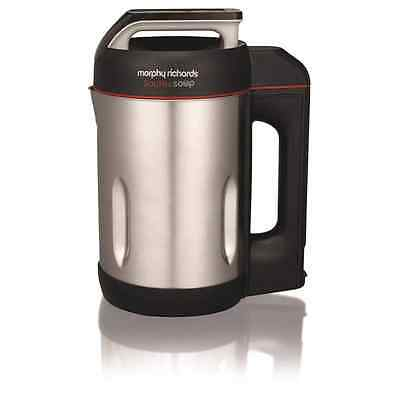 Morphy Richards 501014 Sauté and Soup 1.6 Litres Soup Maker Stainless Steel New