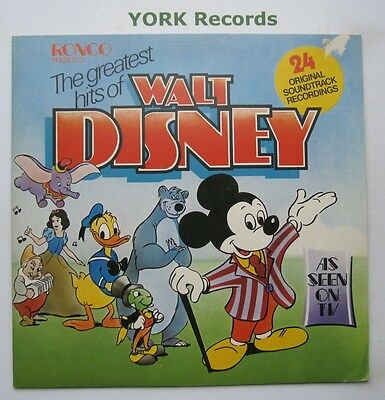 GREATEST HITS OF WALT DISNEY - Excellent Condition LP Record Ronco RTD 2013