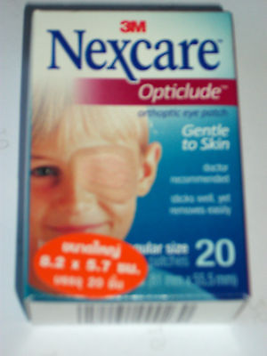 60 x Nexcare 3M Opticlude Orthoptic Eye Patch Regular Plaster Adhesive Patches